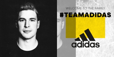 NHL star and captain of the Pittsburgh Penguins Sidney Crosby joins adidas. (CNW Group/adidas Canada Limited)