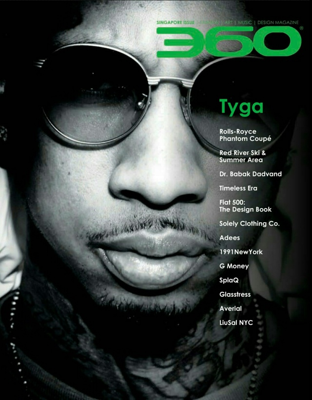 tyga cover with 2 of my writings